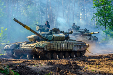 Okupanci wczoraj na wschodzie Ukrainy 10 razy naruszyli zawieszenie broni