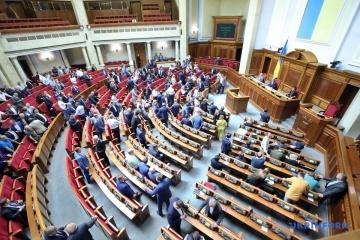 La Rada a refusé d'inclure à l'ordre du jour les projets de loi proposés par Zelensky