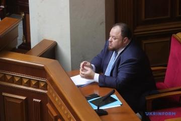 Stefanchuk asegura que las listas abiertas en las elecciones son una posición de principio del presidente