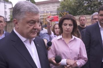 ポロシェンコ前大統領、ゼレンシキー新大統領の最高会議解散にコメント