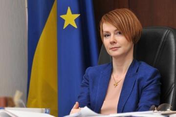 Olena Zerkal: L'Ukraine veut obtenir un statut international pour le détroit de Kertch