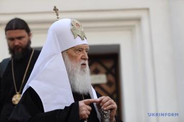 Synod der Orthodoxen Kirche der Ukraine entbindet Filaret von Leitung des Bistums Kyjiw