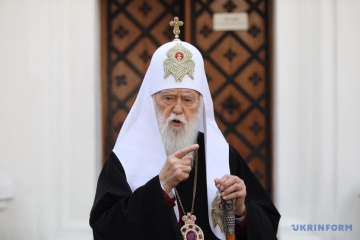 ウクライナ正教会名誉総主教、新型コロナ感染症から回復