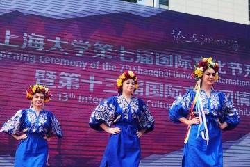 Українські студенти у Китаї посіли призове місце на шанхайському Святі культур