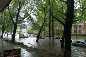 La pluie a transformé Kherson en Venise (photos, vidéo)