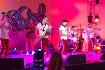 Группа HeartBeat Brass Band закрыла нынешний «Книжный Арсенал»
