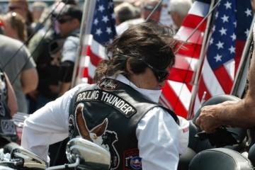 """Марш байкеров в США """"Rolling Thunder"""" в этом году может стать последним"""