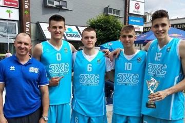 Сборная Украины U-18 выиграла международный турнир по баскетболу 3х3 в Словакии