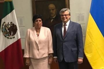 Ucrania y México desarrollan un algoritmo de acción para firmar un acuerdo de exención de visados