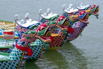 Un festival ukraino-chinois avec des «dragons» organisé à Mykolaiv