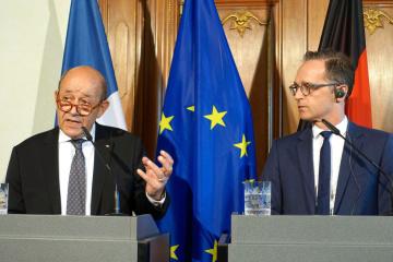Außenminister Deutschlands und Frankreichs kommen zu Gesprächen nach Kyjiw