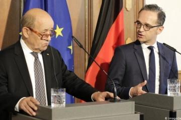 Los titulares de Exteriores de Alemania y Francia realizarán una visita a Ucrania