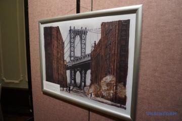 W Nowym Jorku odbyła się wystawa prac Romana Suszczenko ZDJĘCIE, WIDEO