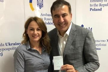 Saakaschwili erhält Ausweis für Rückkehr in die Ukraine