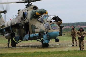Riwne: Vier Crewmitglieder kommen bei Absturz des Militärhubschraubers ums Leben