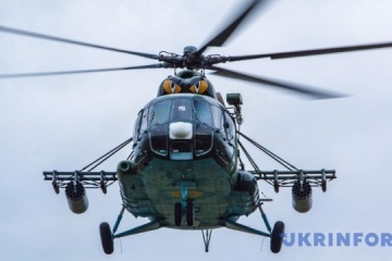 Helicopter of Ukraine's Armed Forces crashes in Rivne region