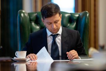 Zelensky signs decree on measures to eliminate effects of storm wind in Zakarpattia region
