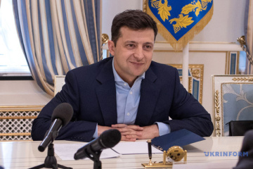 Zelensky congratulates journalists on professional holiday