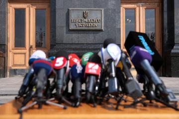 約8割のウクライナ国民、ロシアの報道を信頼せず