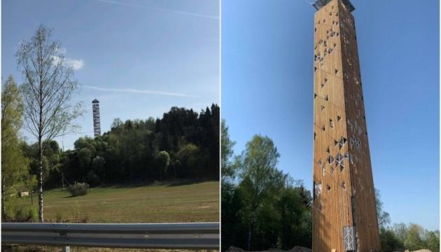 Найвища оглядова вежа Литви відкриється влітку