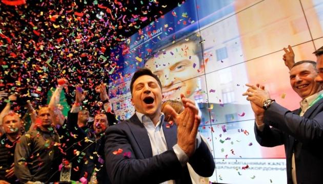「とうとう!」 ゼレンシキー次期大統領チーム、就任式開催日決定にコメント