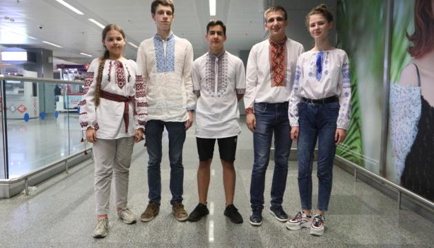 Как украинские школьники «взяли» 5 медалей на международной конференции