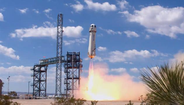 Blue Origin запустила ракету для тестирования посадки на Луне