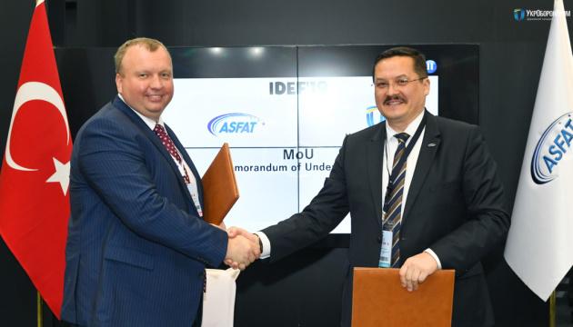 Ukroboronprom, Turkey's ASFAT sign memorandum