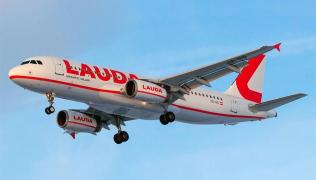 Laudamotion будет летать из Киева в Вену ежедневно