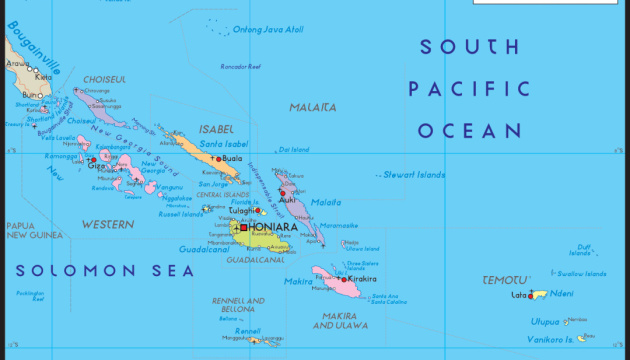 Біля Соломонових островів стався потужний землетрус