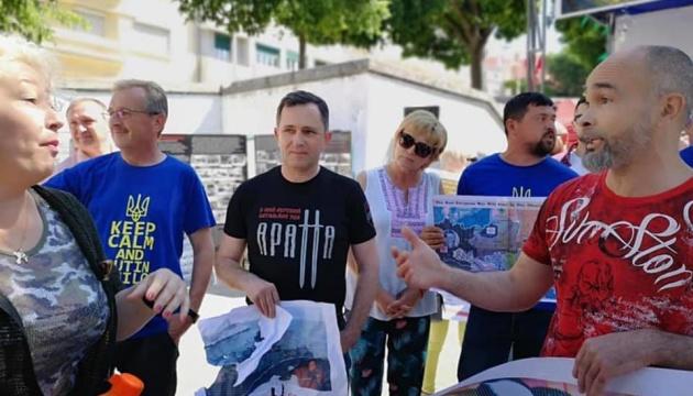 У Лісабоні учасники акції «Безсмертний полк» напали на українців