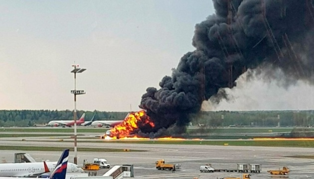 МЗС перевіряє інформацію про постраждалу на літаку у Шереметьєво українку