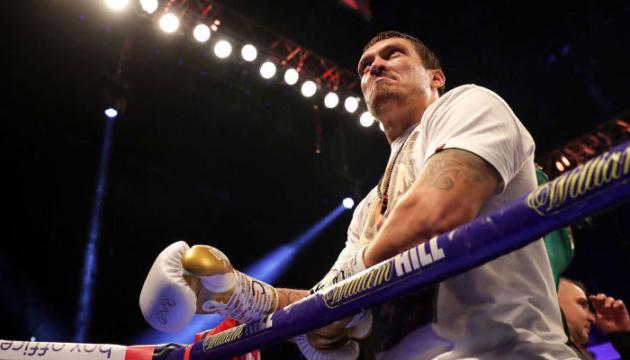 Boxen: Usyk bekommt für Kampf mit Takam über eine Million Dollar