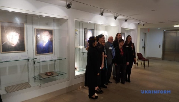 Exhibition dedicated to 75th anniversary of deportation of Crimean Tatars opens in New York. Photos