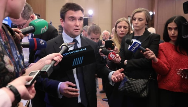 Klimkin: Russia will be forced to take part in talks on Crimea