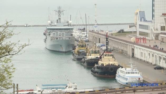 До Одеси прибув британський розвідувальний корабель Echo