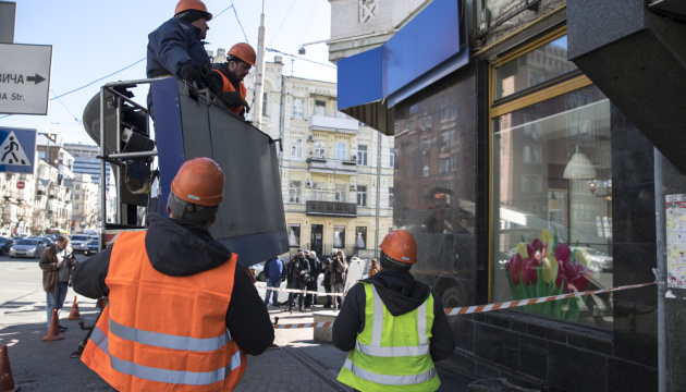 У столиці за місяць демонтували понад 1160 незаконних рекламних конструкцій - КМДА