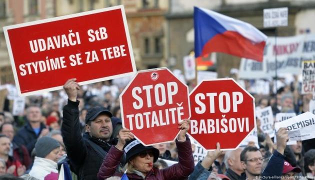 У Чехії анонсували наступну велику демонстрацію за демократію