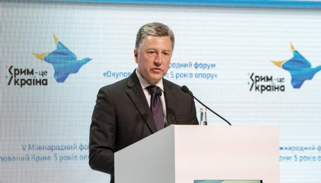 """Выполнение """"Минска"""" могло бы начаться с освобождения украинских моряков - Волкер"""