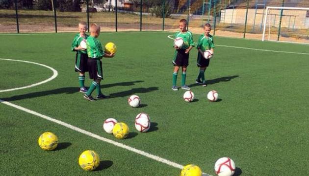 На Сумщині за рік побудували 13 футбольних майданчиків