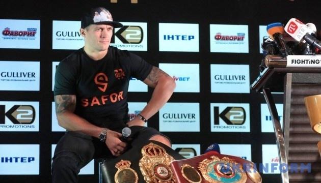 Se cancela la pelea Usyk vs Takam debido a una lesión del ucraniano