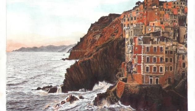 Gemäldeausstellung von Suschtschenko in New York
