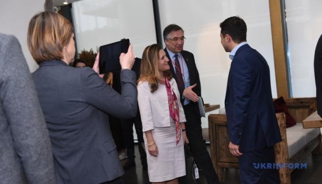 Фріланд запросила Зеленського на конференцію до Канади - посол