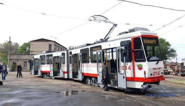 У Запоріжжі на маршрут вийшов ще один берлінський трамвай