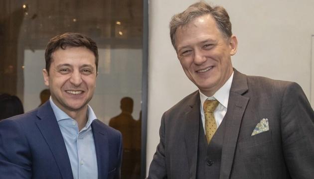 U.S. Deputy Assistant Secretary meets with Ukraine's president-elect