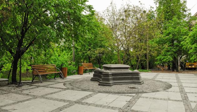 У Вінниці відновлюють колону на честь набуття містом Магдебурзького права