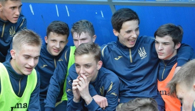 Сборная Украины по футболу U15 обыграла киприотов на Турнире развития УЕФА