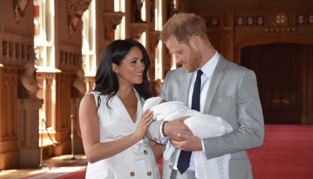 Принц Гаррі та Меган Маркл дали первістку ім'я