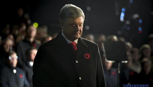 Poroshenko: Almost 10 million Ukrainians killed in World War II