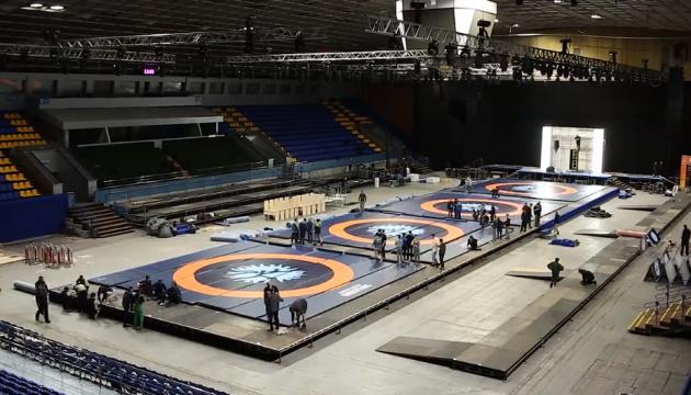 У Києві стартує Міжнародний турнір з вільної, жіночої та греко-римської боротьби